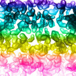 Royalty-Free Stock Photo: Rainbow hearts