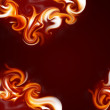 Flame frame — Stock Photo #2167951