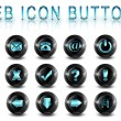 Web icons buttons — Stock Photo #2169010