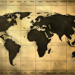 Foto Stock: Ancient world map
