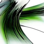 Green chrome — Stock Photo