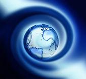 Blue world — Stock Photo