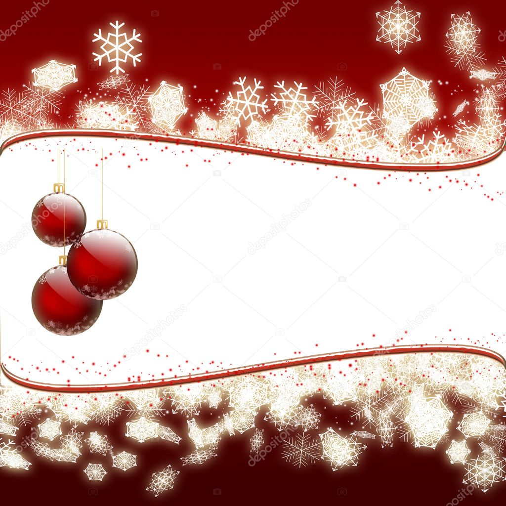 Beautiful Christmas background - computer generated for your projects — Stock Photo #2168167