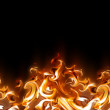 Abstract fire — Stock Photo