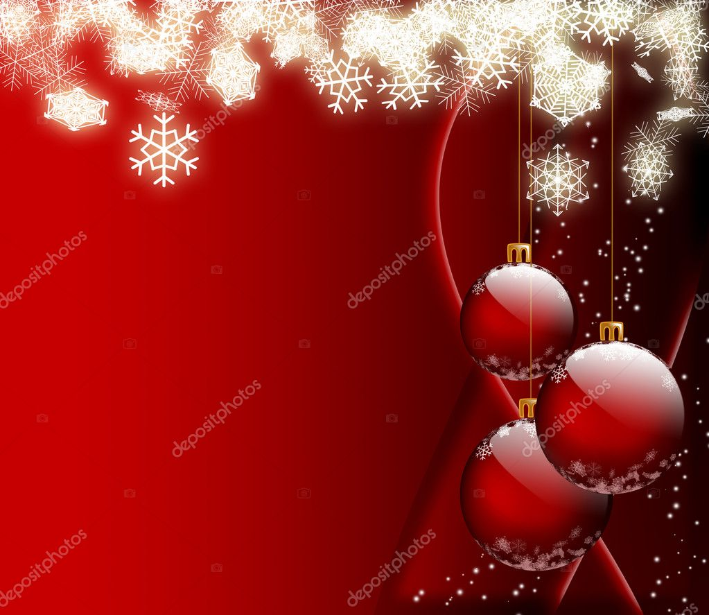 Beautiful Christmas background - computer generated for your projects — Stock Photo #2181425