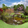 Beautiful botanical garden at the Huntin - Stock Photo