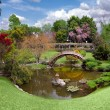 Stock Photo: Beautiful botanical garden at the Huntin