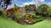 Beautiful botanical garden at the Huntin — Stock Photo