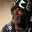 Portrait of a Transient  Homeless Africa - Stock Photo