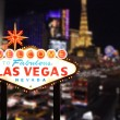 Welcome to Las Vegas Nevada — Stockfoto