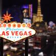 Добро пожаловать в Лас-Вегас Невада — Стоковое фото