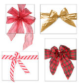 Beautiful Christmas Gifts With Bows — Stock Photo