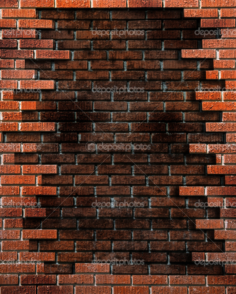 Broken Worn Grunge Brick Texture Background  Stock Photo #2253980