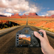 Capturing the Landscape at Monument Vall - Stock Photo