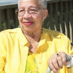Elderly African American Woman Resting W — Stock Photo