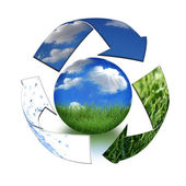 Take Care of Mother Earth Concept — Stock Photo