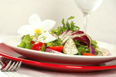 View of Healthy Salad — Stock Photo