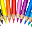 Stockfoto: Colored pencils