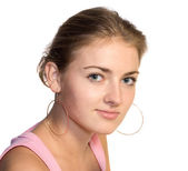 Ung kvinna — Stockfoto