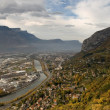 Grenoble Panorama - Stock Photo