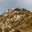 Stock Photo: Ruins near Grenoble Bastille