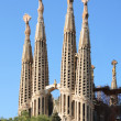 Sagrada Familia towers - Stock Photo