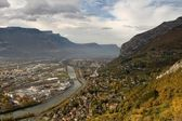 Grenoble Panorama — Stock Photo
