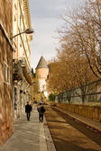 Street of Grenoble — Stock Photo