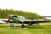 Soviet combat plane Il-10 — Stock Photo