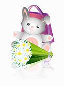 Little_rabbit — Stock Vector