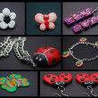 Stock Photo: Hand made jeweleries