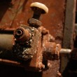 Stock Photo: Rust on industrial equipment