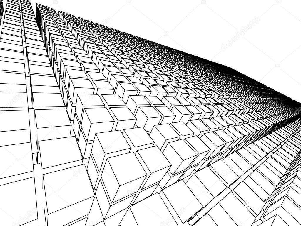 Http Depositphotos Com 2158841 Stock Photo 3d Sketch Monochrome Architecture Html