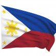 Flag of The Philippines — Stock Photo
