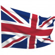 Flag of United Kingdom — Stock Photo #2178437