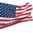 Royalty-Free Stock Photo: Flag of The United states of america