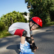 Young Boy Roller — Stock Photo #2180744