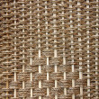 Texture of brown wicker basket — Foto Stock