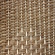 Texture of brown wicker basket — 图库照片