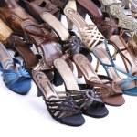 Female footwear — Stock Photo