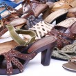 Stock Photo: Female footwear