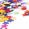 Stars in the form of confetti — Stock Photo #2181313