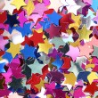 Royalty-Free Stock Photo: Stars in the form of confetti