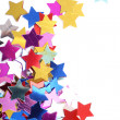 Stars in the form of confetti - Stockfoto
