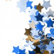 Stock Photo: Stars in the form of confetti