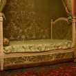Stock Photo: Bedroom in palace