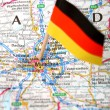 Map of Munchen — Stock Photo #2182362