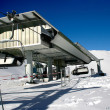 Ski station - landscape with ski lift — Stok Fotoğraf #2182709