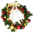 Christmas wreath — Stock Photo #2182719