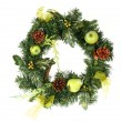 Christmas wreath — Stockfoto